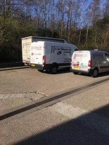 3 vans back side