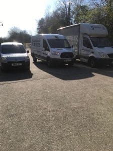 3 vans front