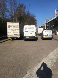 4 vans back